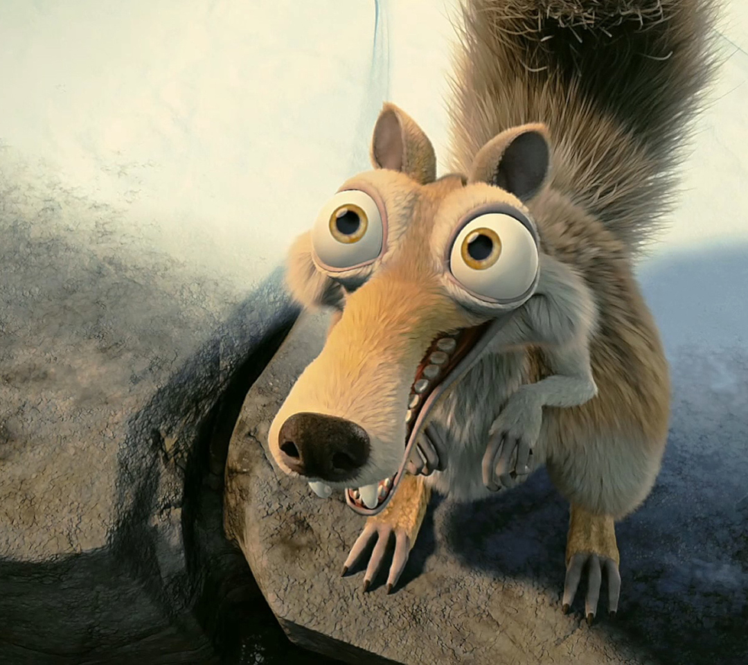 Screenshot №1 pro téma Squirrel From Ice Age 1080x960