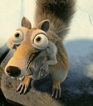 Squirrel From Ice Age sfondi gratuiti per Nokia Lumia 925