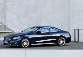 Mercedes-Benz S65 AMG Coupe Background for Android, iPhone and iPad