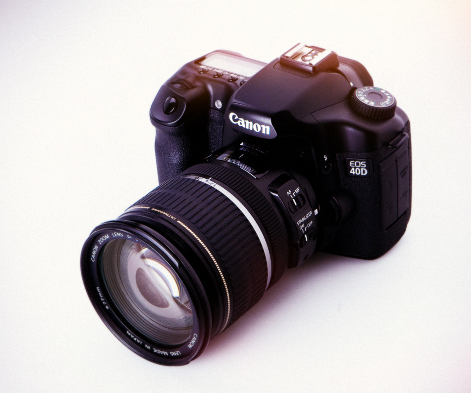 Обои Canon EOS 40D Digital SLR Camera 960x800