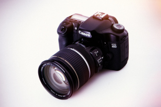 Canon EOS 40D Digital SLR Camera Wallpaper for Android, iPhone and iPad