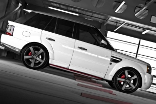 Range Rover Sport 3.0TD V6 Background for Android, iPhone and iPad