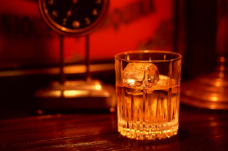 Whiskey With Ice Background for Android, iPhone and iPad