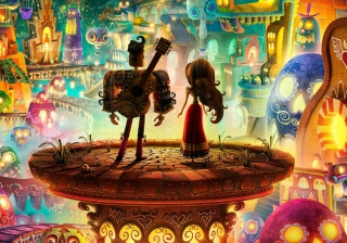 Free Book Of Love - Boxtrolls Picture for HTC Desire HD