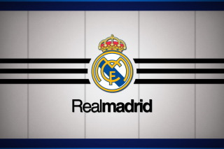 Real Madrid Logo Background for Android, iPhone and iPad
