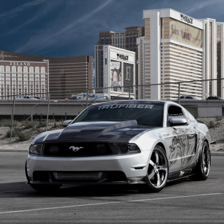 Ford Mustang Aerography Picture for iPad mini