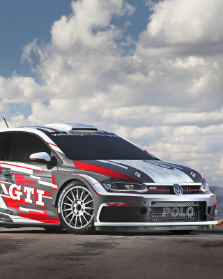 Volkswagen Polo GTI Wallpaper for Nokia C2-00