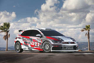 Volkswagen Polo GTI Background for Desktop 1280x720 HDTV