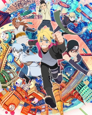 Naruto boruto sarada mitsuki Background for HTC Titan
