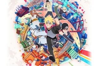 Naruto boruto sarada mitsuki Background for Sony Xperia Z2 Tablet
