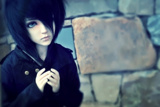 Free Emo Doll Picture for Android, iPhone and iPad