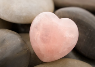 Heart Shaped Rock Wallpaper for Android, iPhone and iPad