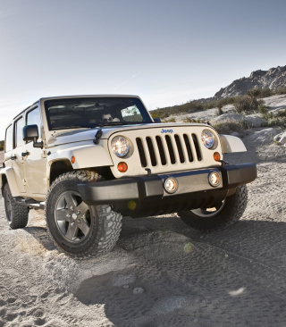 Jeep Wrangler Picture for iPhone 6 Plus