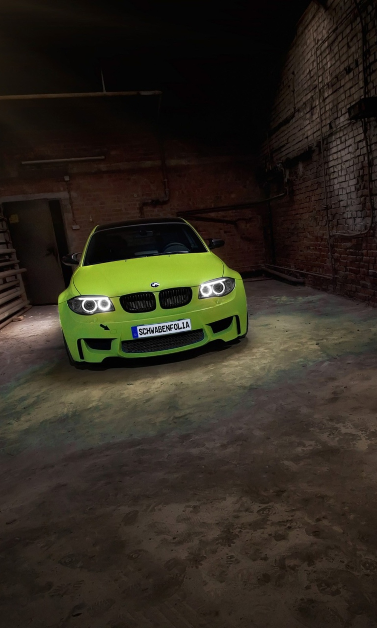 Screenshot №1 pro téma BMW 1 Series M Coupe 768x1280