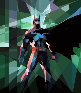 Free Batman Mosaic Picture for 240x320