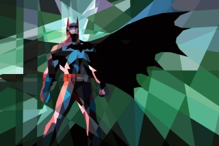 Free Batman Mosaic Picture for Android, iPhone and iPad