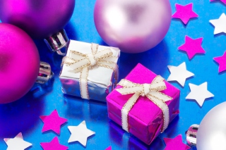Xmas Presents Background for Android, iPhone and iPad