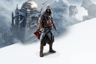 Ezio Assassins Creed Revelations sfondi gratuiti per Fullscreen Desktop 800x600