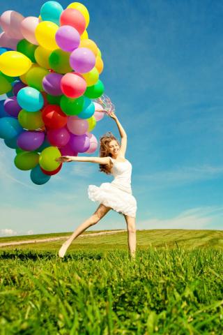 Balloon Girl para Huawei G7300