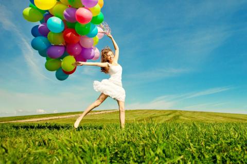 Balloon Girl para LG E400 Optimus L3
