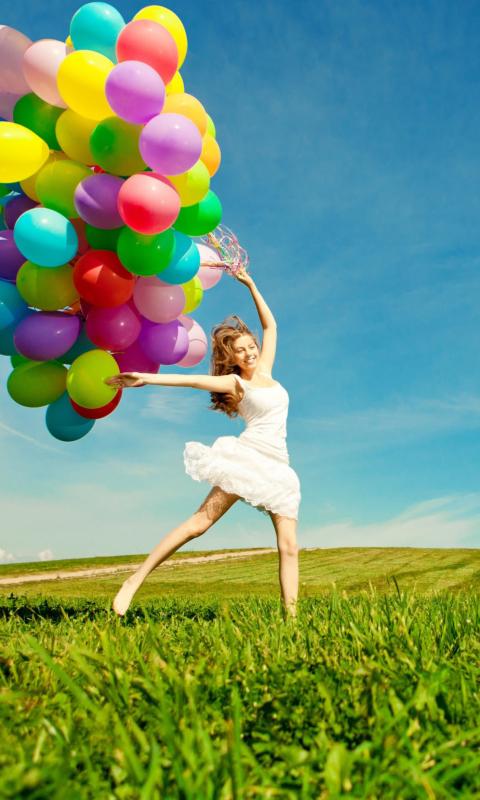 Balloon Girl per Nokia Lumia 800