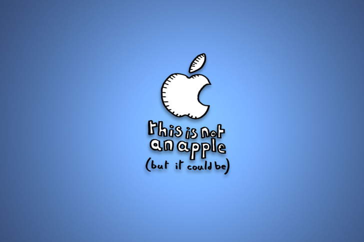 This Is Not An Apple wallpaper