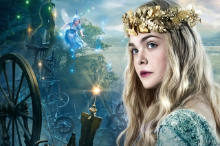 Elle Fanning As Princess Aurora Picture for Android, iPhone and iPad
