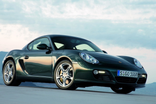 Porsche Cayman Background for Android, iPhone and iPad