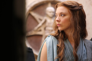 Kostenloses Game of thrones Margaery Tyrell, Natalie Dormer Wallpaper für HTC One V