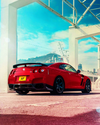 Nissan GT R R35 Background for Nokia C2-01