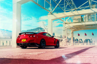 Nissan GT R R35 Background for Android, iPhone and iPad