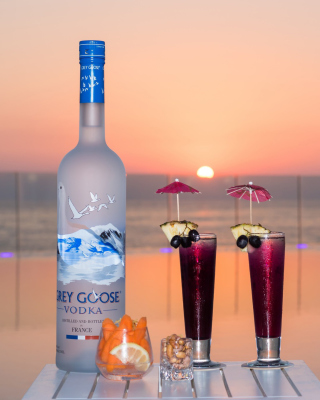 Grey Goose Vodka Background for 240x320