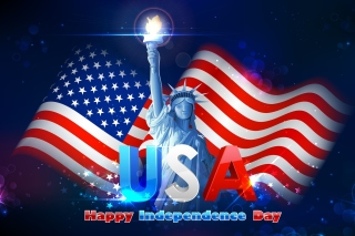 4TH JULY Independence Day USA Picture for Android, iPhone and iPad