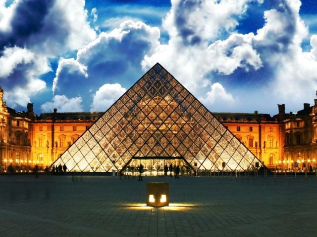 Louvre Museum para Sony Ericsson XPERIA X8
