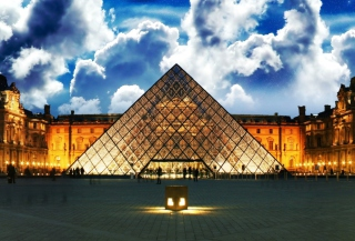 Louvre Museum Background for Android, iPhone and iPad