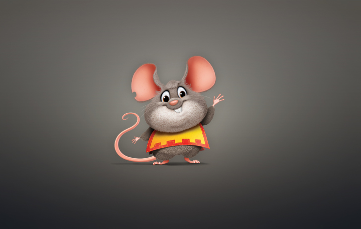 Funny Little Mouse wallpaper