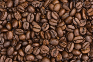 Roasted Coffee Beans Background for Android, iPhone and iPad