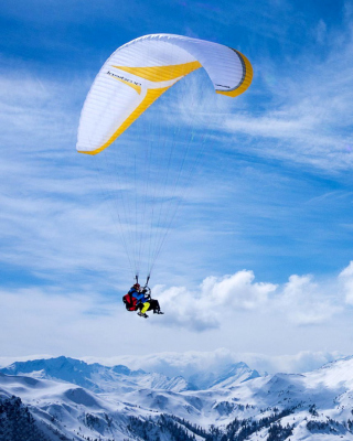 Paragliding Wallpaper for Nokia C-5 5MP
