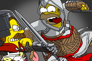 The Simpsons, Homer Simpson sfondi gratuiti per Fullscreen Desktop 800x600