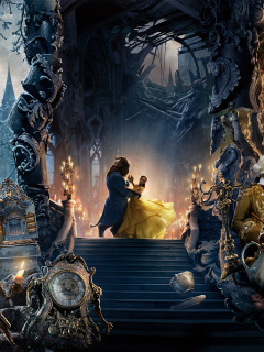 Beauty and the Beast Dance and Song wallpaper 240x320
