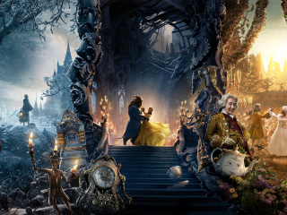 Screenshot №1 pro téma Beauty and the Beast Dance and Song 320x240