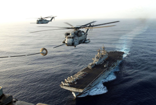 Warship - Gunship In Sea Picture for Android, iPhone and iPad