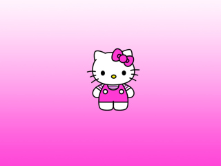 Screenshot №1 pro téma Hello Kitty 320x240