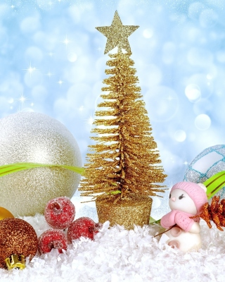 Christmas gifts Background for Nokia Lumia 800
