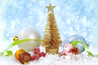Christmas gifts Wallpaper for HTC Desire HD