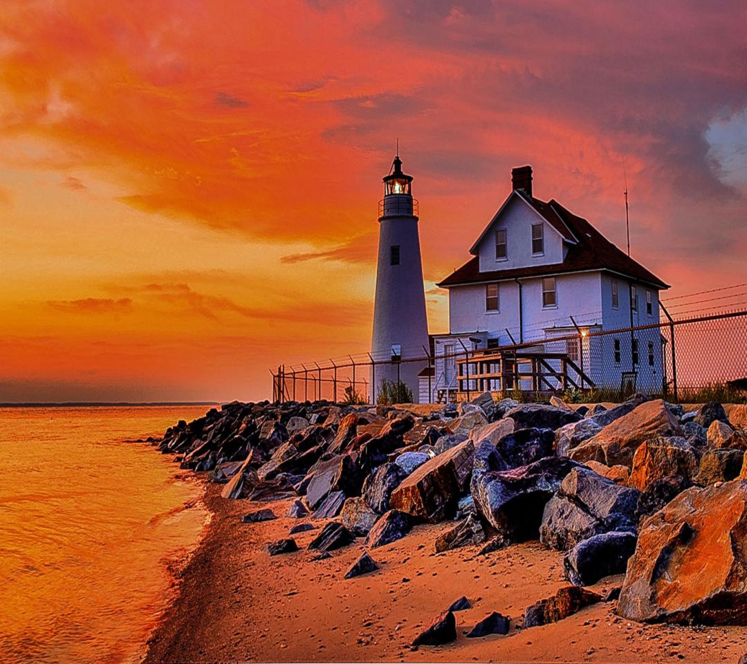 Lighthouse In Michigan para Motorola RAZR XT910