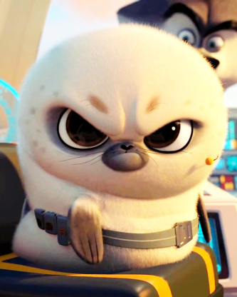 Screenshot №1 pro téma Penguins Of Madagascar Angry Seal 352x416
