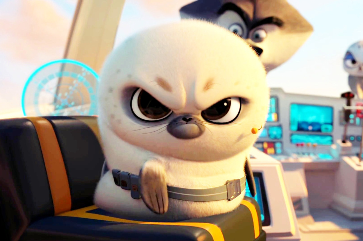 Screenshot №1 pro téma Penguins Of Madagascar Angry Seal