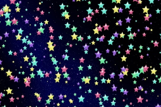 Colorful Stars Picture for Android, iPhone and iPad