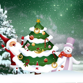 Free Prosperous New Year Picture for iPad 2